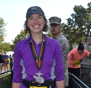Race Time: The Marine Corps Marathon 2013