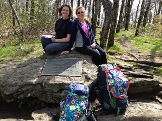 Me and my mom at the start of my AT thru-hike, May 8, 2013
