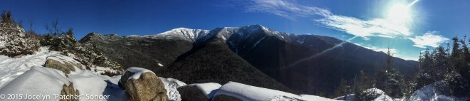 The first view of Franconia Ridge from the Old Bridle path... If that's not motivation I don't know what is!