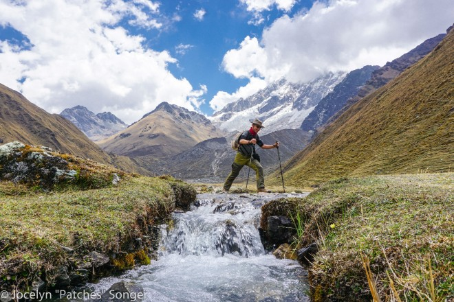 Crossing Streams in the Andes