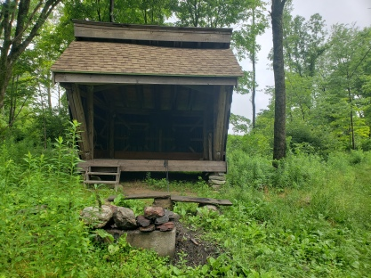 Buck Hill Shelter was the nicest, cleanest, newest shelter on the MST