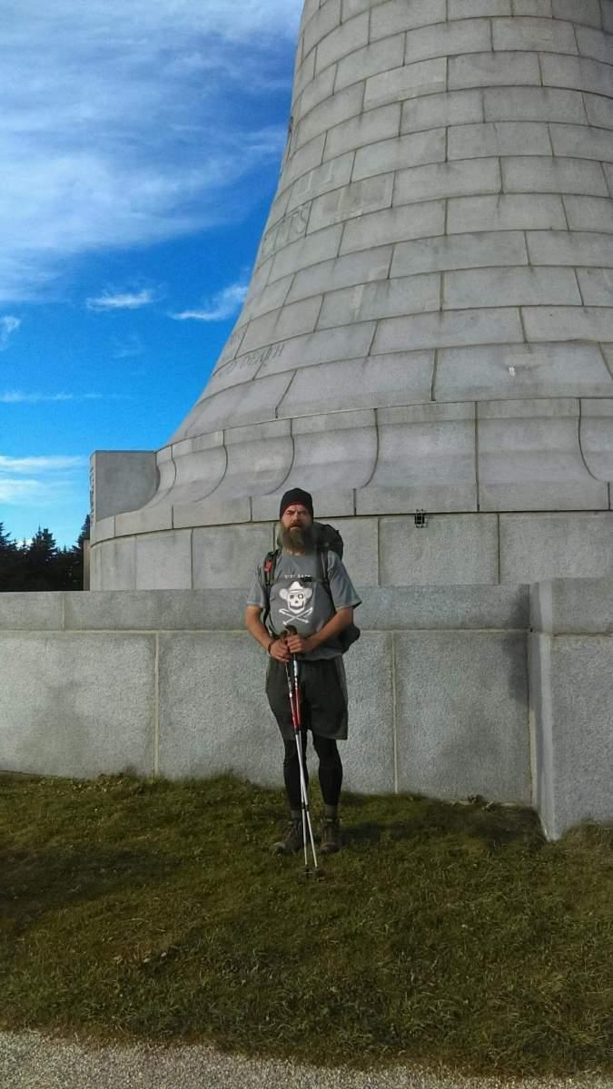 "Patrick O'Meara ""City Slicka"" backpacking on Mount Greylock"