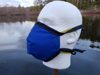 N-95 Mask with droplet cover 'MakerMask: Cover'