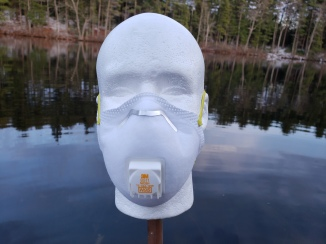 Commercially sourced N-95 mask